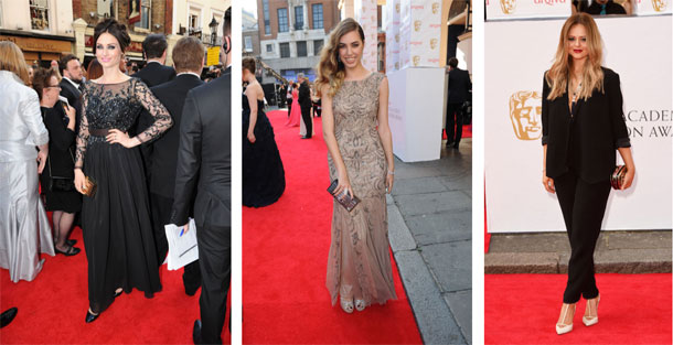 Kendals Hits the BAFTA Red Carpet 2014 I Love Manchester