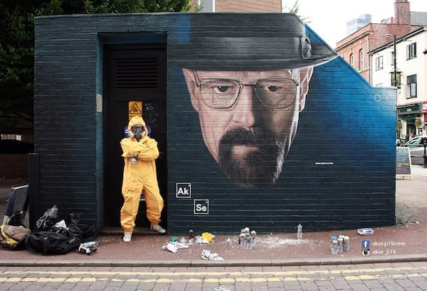 What inspires the man behind Manchester's favourite street art? I Love Manchester