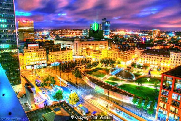 Everything Is Illuminated: Enlighten Manchester I Love Manchester