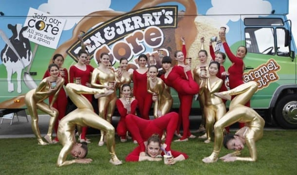 Ben & Jerry's Launches Core-azy UK Ice Cream Tour And Visits Manchester I Love Manchester