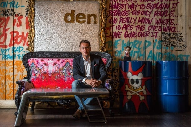 Den Turns 10: Dan Healey's Bespoke Interiors Furnishes Almost Famous GN I Love Manchester