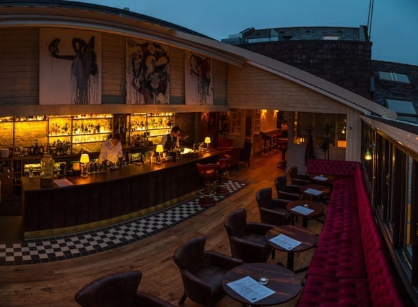El Gato Negro Tapas celebrates opening with launch party and reveals retractible roof I Love Manchester