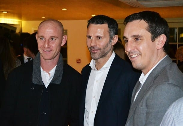 Georges Worsley Launchparty Nickybutt Ryangiggs Garyneville