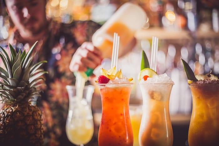 Hula cocktails