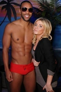 Lolascoronation Street Star Michelle Collins At The Launch Of Lolas Miami Style Beach Bar 199X300