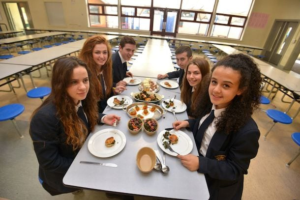 Master-chefs Serve Fine Dining In Manchester High School I Love Manchester