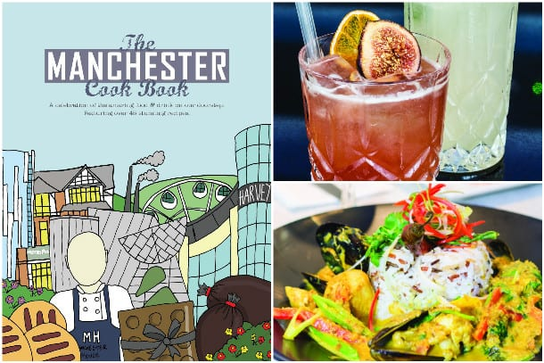 The Manchester Cook Book: The Perfect Gift for Foodies I Love Manchester