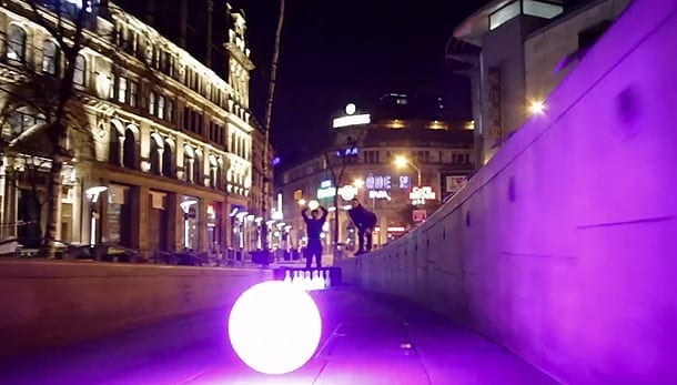Bowling's New Breed Glows in the Dark on the Streets of Manchester I Love Manchester