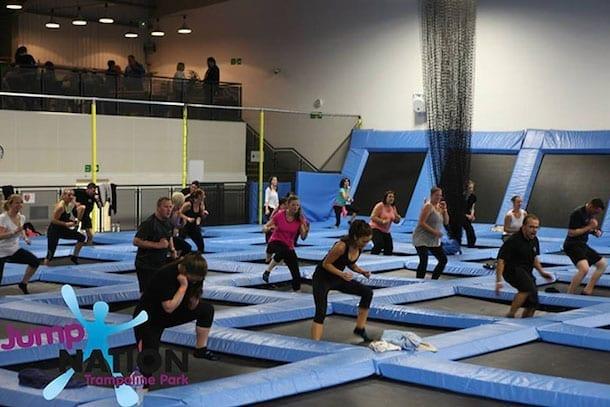 Trampoline parks: the cellulite busting, muscle toning fitness sensation I Love Manchester