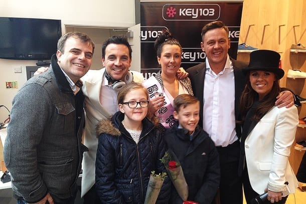 Key103 reveal their exclusive 'Surprisal' on Valentine's Day I Love Manchester