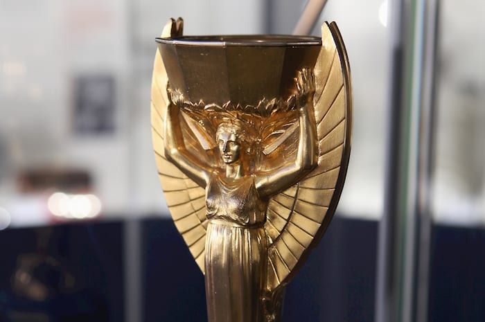 1966 World Cup Exhibition at the National Football Museum opens 24th June 2016 Pictured: The 1966 Jules Rimet trophy. Further Info: Hugh Thomas footballmuseum@wearebrazenpr.com 07703 832104 PR and Press Release Distribution only. Further or additional use requires permission. Picture © Jason Lock Photography +44 (0) 7889 152747 +44 (0) 161 431 4012 info@jasonlock.co.uk www.jasonlock.co.uk