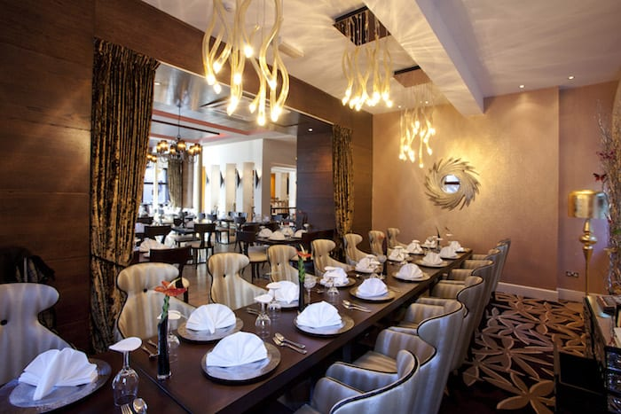 Chaophraya Manchester large table