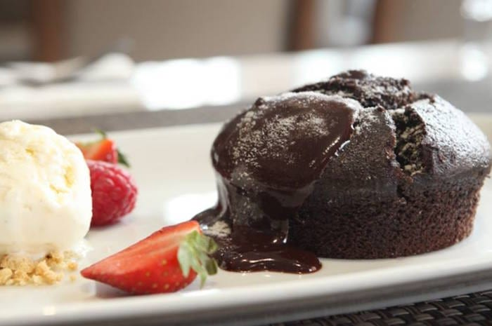 Per Tutti Cafe Bar Grill Manchester_chocolate pudding