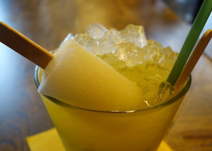 Sonalee's Passionfruit Popsicle Caipirinha