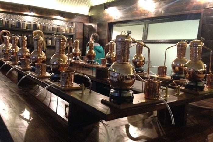 Take a tour around this immersive city centre gin distillery and try Manchester's very own Three Rivers Gin I Love Manchester