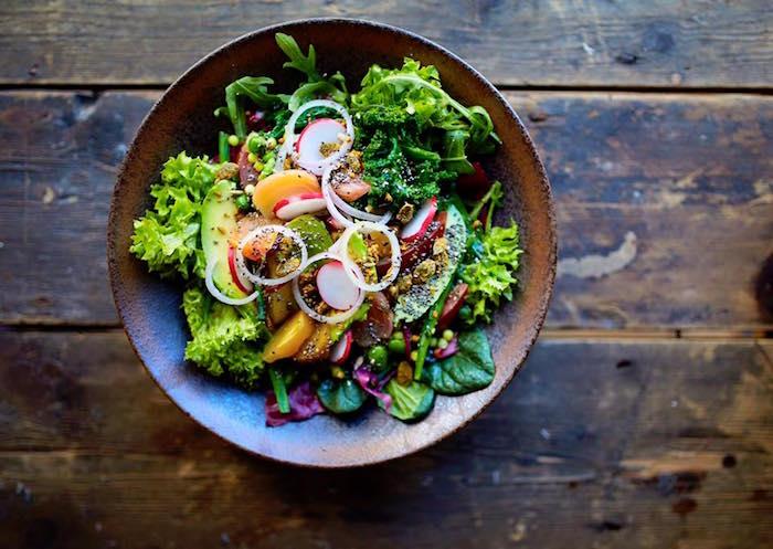 Artisan Manchester salad