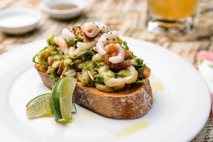 Cosy Club Manchester prawn salad