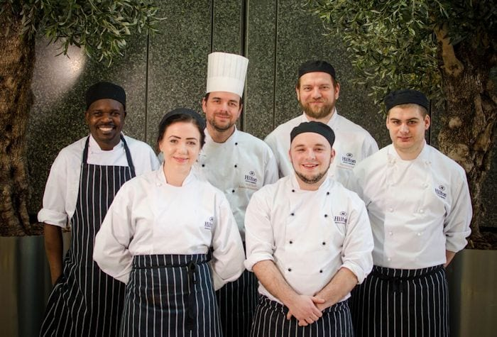 Top chefs of the future create The Deansgate Experience at the Hilton I Love Manchester