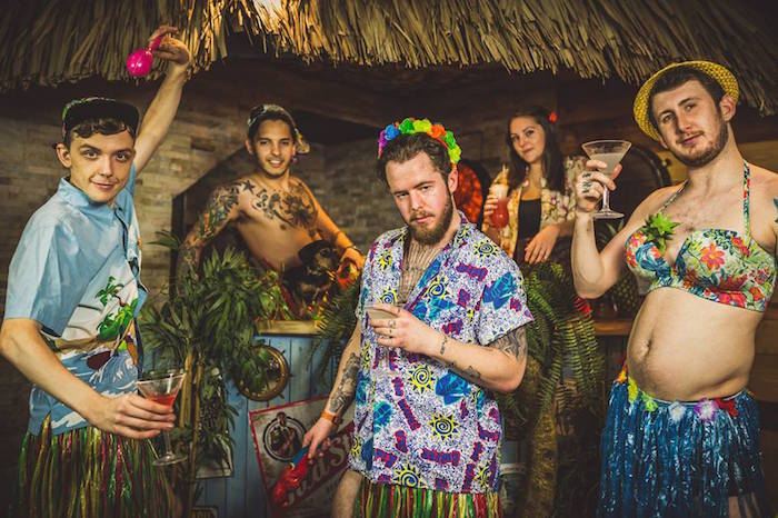 Go on a MAD Manchester safari of gin, whiskey, tiki - and a tidal rave! I Love Manchester