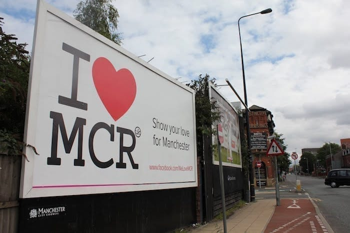 Five years after the Manchester riots: how the city fought back and why #WeLoveMCR I Love Manchester
