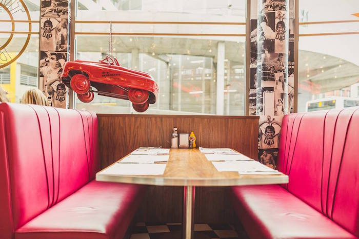 Infamous Diner booth