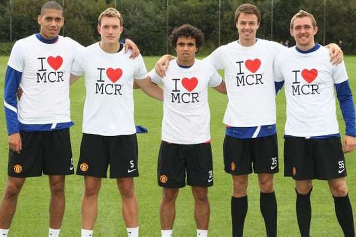 Man United I Love MCR tshirts