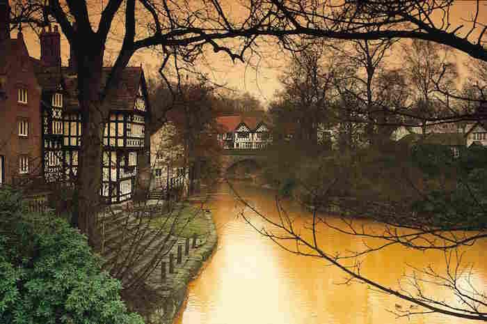 Worsley Village Bridgewater canal