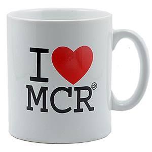 I Love MCR® Mug I Love Manchester
