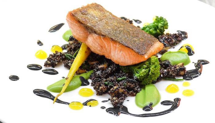 Grafene MCR_Sea trout with quinoa