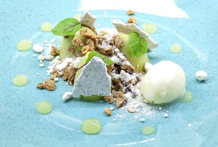Grafene MCR_Sorrel posset with sumac meringue