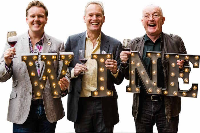 Three Wine Men are coming to Manchester for Christmas I Love Manchester