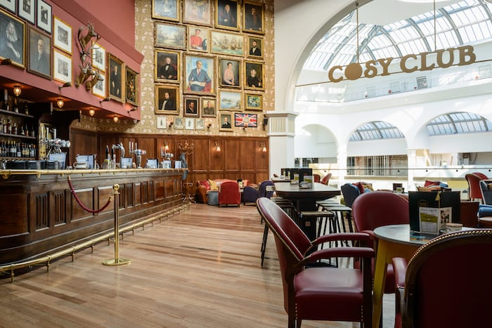 Cosy Club - where mansion splendour meets village hall eccentricity I Love Manchester