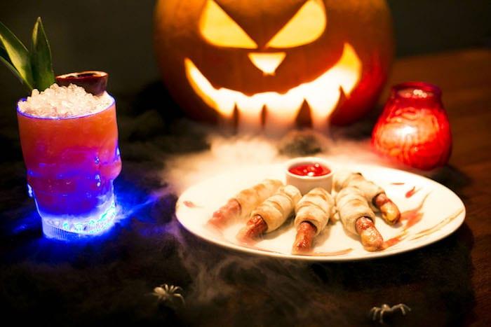 finger-food-black-dog-ballroom-haloween-manchester