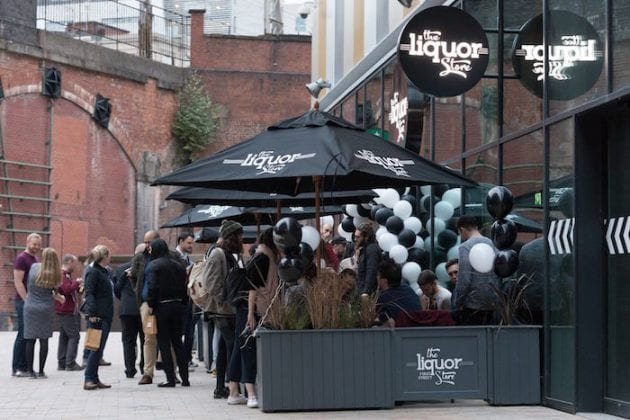 The Liquor Store First Street launches in style - finally bringing nightlife to Manchester's newest district I Love Manchester