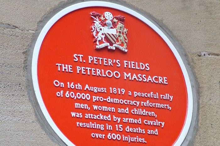 Peterloo Massacre campaigners want public involvement in memorial I Love Manchester