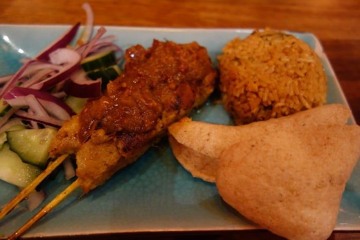 satay-chicken-nasi-rice