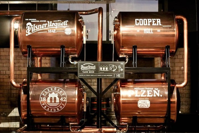 Cooper Hall ditches Pilsner Urquell tanks for Manchester Union lager I Love Manchester