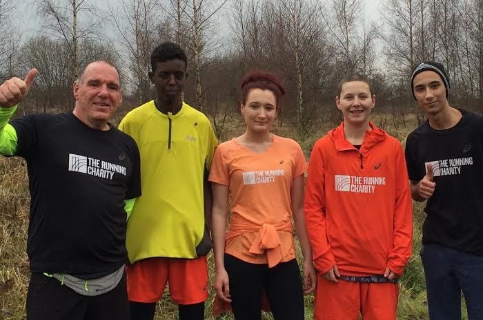 Running charity puts its best foot forward to help young homeless in Manchester I Love Manchester