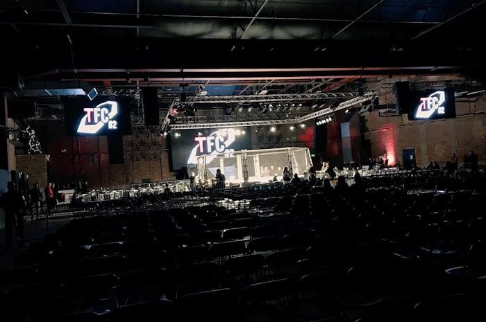 Explosive MMA event Tanko Fighting Championships 2 shakes Victoria Warehouse I Love Manchester