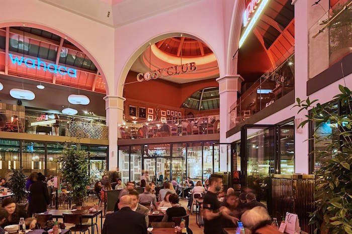 Corn Exchange: from market place and political protest to Manchester's dining destination I Love Manchester