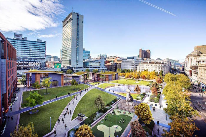 Things to look forward to in Manchester this year including Piccadilly Gardens and a Michelin Star I Love Manchester