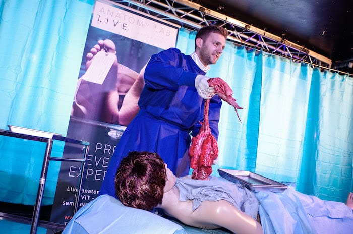 UK's only travelling human body-based dissection event is coming to Manchester I Love Manchester