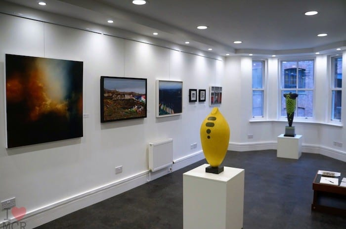 Manchester's newest gallery launches latest art exhibition I Love Manchester
