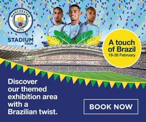 Manchester City launch 'Touch of Brazil' stadium tour I Love Manchester