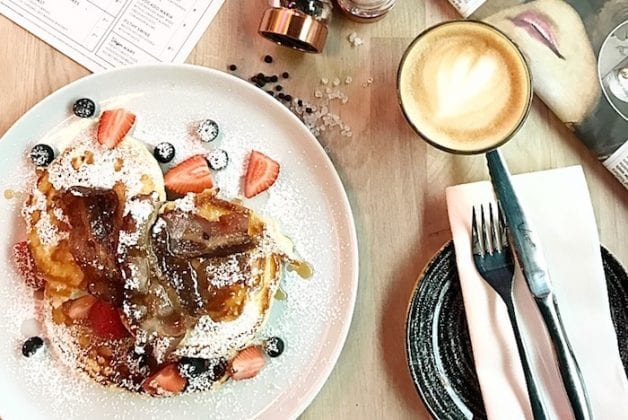 Transport yourself to an ALL-YOU-CAN-EAT-AND-DRINK beach house brunch and no passport required I Love Manchester