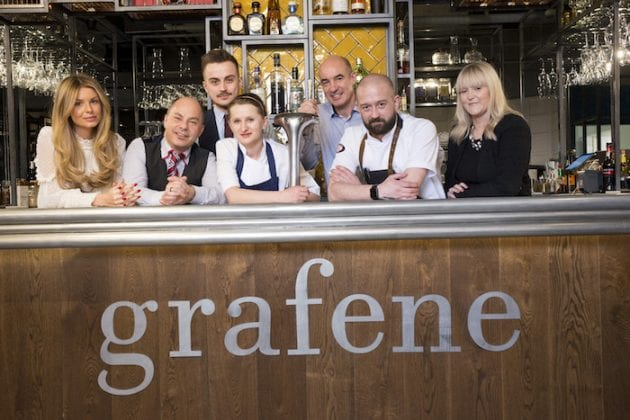 New head chef of modern British fine dining restaurant Grafene proves he knows his onions I Love Manchester