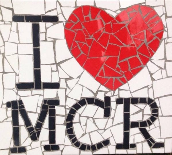 I Love MCR Mosaic I Love Manchester
