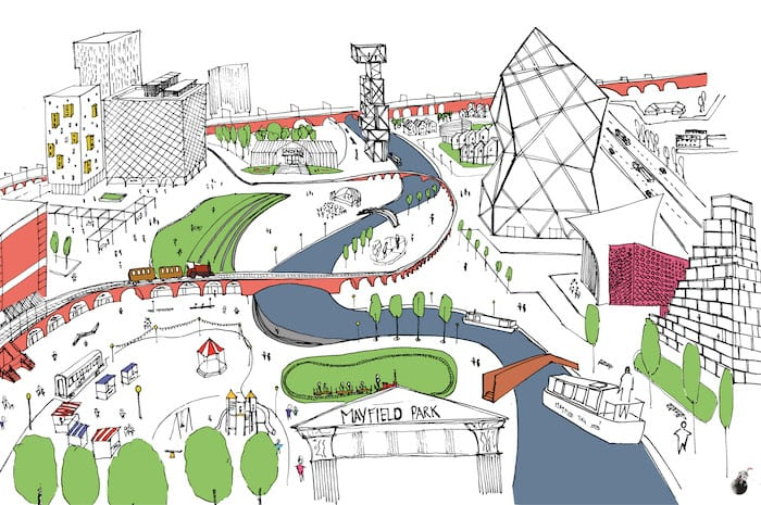 New report presents alternative vision for Manchester's £1bn Mayfield district I Love Manchester