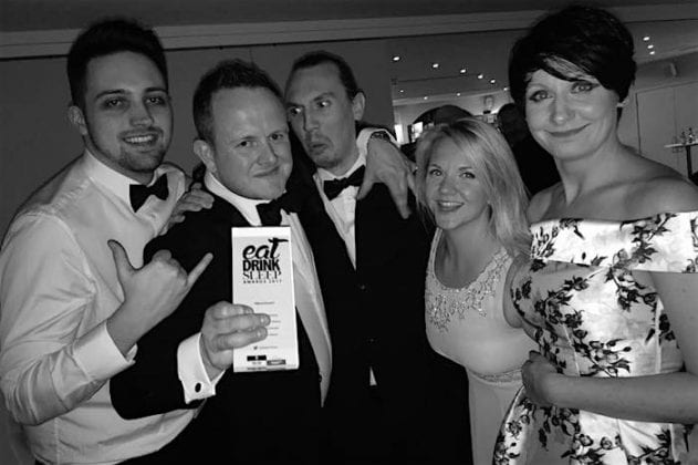 The Liquor Store crowned BEST LATE NIGHT VENUE at The Drinkies Awards 2017 I Love Manchester