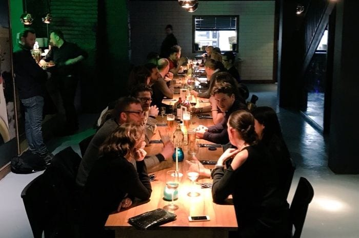 Communal long table dining is all the rage and it's coming to a restaurant near you I Love Manchester